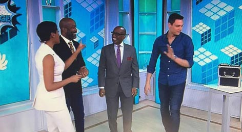 Speeding Ticket Magician appears on the Today Show