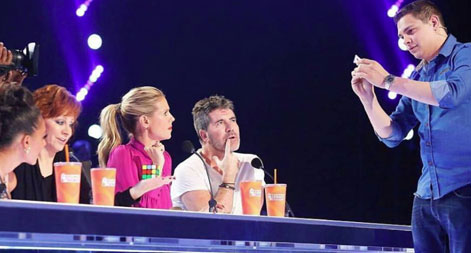 Magician Steven Brundage wows the judges of America's Got Talent